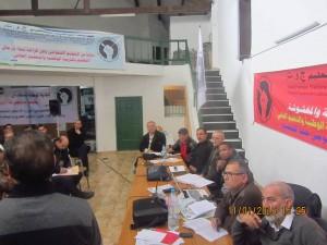 FNE تدعو للدفاع عن التعليم العمومي وعن الأساتذة المتدربين والشغيلة التعليمية