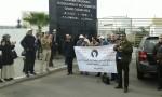 دكاترة الدار البيضاء يحتجون أمام أكاديمية التربية
