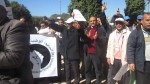فيديو: احتجاج أمام وزارة التربية للمساعدين التقنين والإداريين 2 مارس 2016