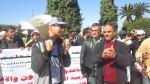 فيديو2: احتجاج أمام وزارة التربية للمساعدين التقنين والإداريين 2 مارس 2016