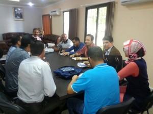 لعرائش: لقاء الجامعة مع المدير الإقليمي للتربية