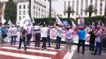 fdt وfne فيديو اعتصام الثلاثاء 19 يوليوز أمام البرلمان ضد نظام إصلاح التقاعد