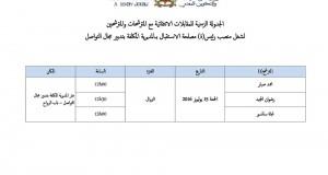 انتقاء مترشحين/ات لرئيس أقسام ومصالح مركزية
