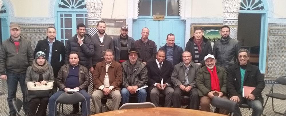 coordination-syndicale-fonctionnaires-diplomes-men-greve-sit-in-lundi-16-janvier-2017-bab-rouah-rabat-reunion