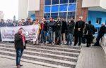 طنجة-أصيلة: إحتجاج fne-fdt-ugtm-cdt المديرية الإقليمية