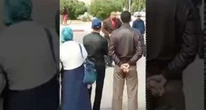طانطان: فيديو وقفة المديرية الإقليمية الخميس 23 مارس 2017 تنفيذا للبرنامج الاحتجاجي الوطني وجزء من كلمة الرفيق خوماني محمد الشيخ باسم المكتب الإقليمي للجامعة الوطنية للتعليم التوجه الديمقراطي FNE