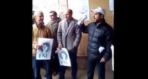 أزيلال: فيديو وقفة المديرية الإقليمية الخميس 23 مارس 2017 البرنامج الاحتجاجي الوطني FNE