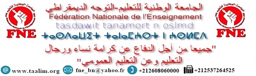 الجامعة الوطنية للتعليم التوجه الديمقراطي FNE